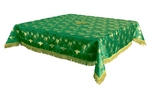 Holy Table cover - brocade BG1 (green-gold)