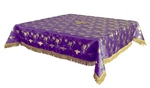 Holy Table cover - brocade BG1 (violet-gold)