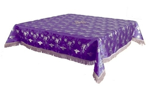Holy Table cover - brocade BG1 (violet-silver)