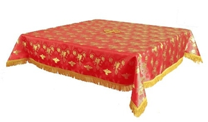 Holy Table cover - brocade BG1 (red-gold)