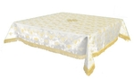 Holy Table cover - brocade BG1 (white-gold)