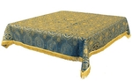 Holy Table cover - brocade BG2 (blue-gold)