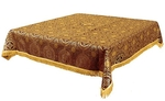 Holy Table cover - brocade BG2 (claret-gold)