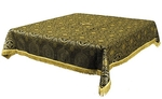 Holy Table cover - brocade BG2 (black-gold)