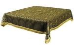 Holy Table cover - brocade BG2 (black-gold)