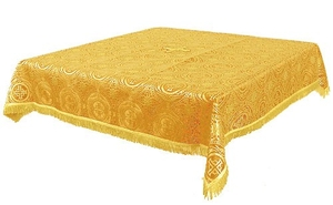 Holy Table cover - brocade BG2 (yellow-gold)