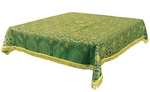 Holy Table cover - brocade BG2 (green-gold)