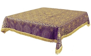 Holy Table cover - brocade BG2 (violet-gold)
