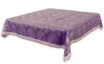 Holy Table cover - brocade BG2 (violet-silver)