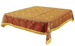 Holy Table cover - brocade BG2 (red-gold)