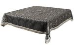 Holy Table cover - brocade BG2 (black-silver)