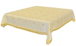 Holy Table cover - brocade BG2 (white-gold)
