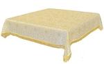 Holy Table cover - brocade BG2 (white-gold)