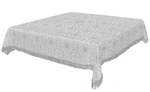Holy Table cover - brocade BG2 (white-silver)