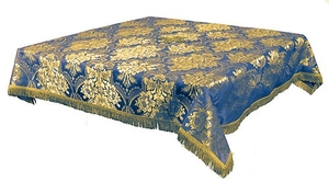 Holy Table cover - brocade BG3 (blue-gold)