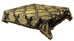 Holy Table cover - brocade BG3 (black-gold)