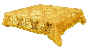 Holy Table cover - brocade BG3 (yellow-gold)