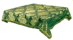 Holy Table cover - brocade BG3 (green-gold)