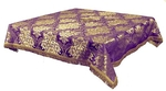 Holy Table cover - brocade BG3 (violet-gold)