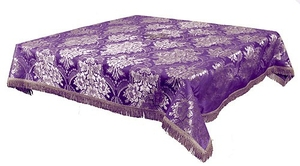 Holy Table cover - brocade BG3 (violet-silver)