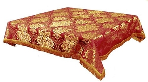 Holy Table cover - brocade BG3 (red-gold)