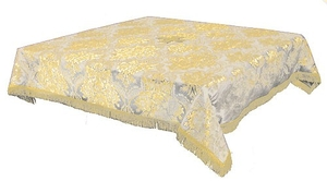 Holy Table cover - brocade BG3 (white-gold)