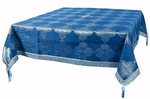 Holy Table cover - brocade BG4 (blue-silver)