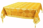 Holy Table cover - brocade BG4 (yellow-gold)