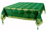 Holy Table cover - brocade BG4 (green-gold)
