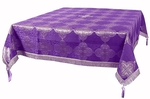 Holy Table cover - brocade BG4 (violet-silver)