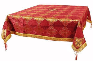 Holy Table cover - brocade BG4 (red-gold)
