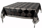 Holy Table cover - brocade BG4 (black-silver)
