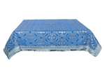 Holy Table cover - silk S2 (blue-silver)