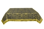 Holy Table cover - silk S2 (black-gold)