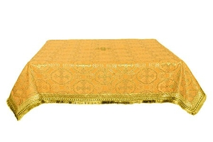 Holy Table cover - silk S2 (yellow-gold)