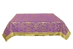 Holy Table cover - silk S2 (violet-gold)