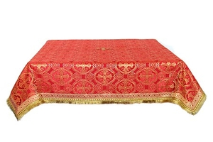 Holy Table cover - silk S2 (red-gold)