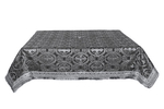 Holy Table cover - silk S2 (black-silver)