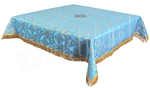 Holy Table cover - silk S3 (blue-gold)