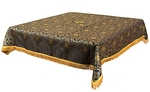 Holy Table cover - silk S3 (black-gold)