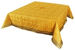 Holy Table cover - silk S3 (yellow-gold)