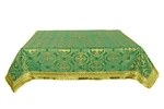 Holy Table cover - silk S3 (green-gold)