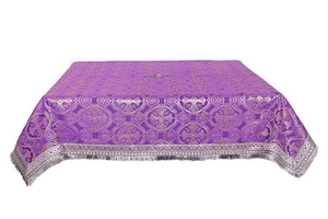 Holy Table cover - silk S3 (violet-silver)