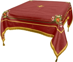Embroidered Holy table cover Balaam (claret-gold)