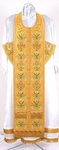Embroidered Epitrakhilion set - Byzantine Eagle (yellow-gold)