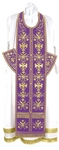 Embroidered Epitrakhilion set - Byzantine Eagle (violet-gold)