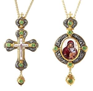 Bishop cross-panagia set no.56