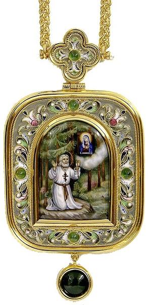 Bishop encolpion panagia no.116