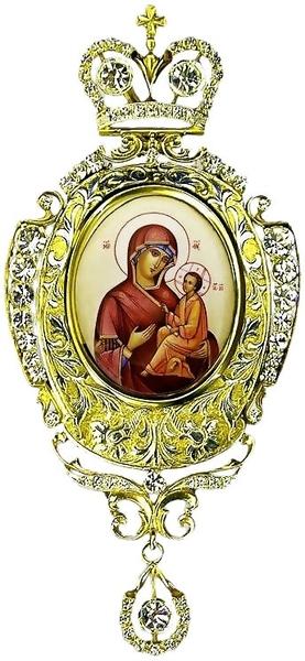 Bishop encolpion panagia no.118