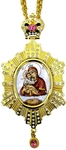 Bishop encolpion panagia no.119